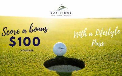 Score a BONUS $100 Voucher