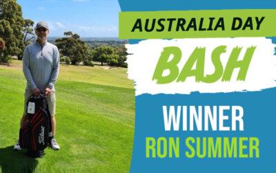 RESULTS – Australia Day Bash